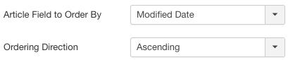 Joomla Fullscreen Slider Ordering Options