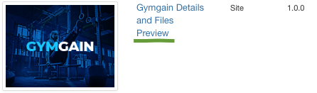 GymGain Joomla Template Preview