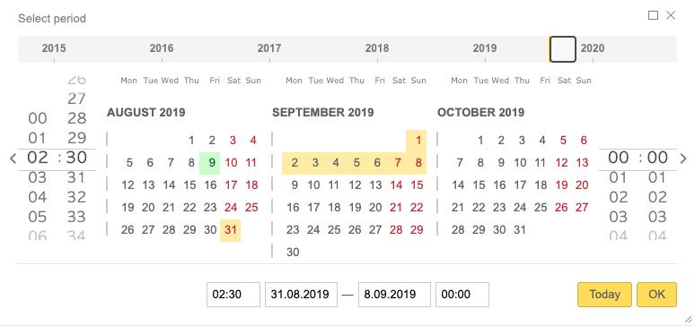 Speaker WordPress Plugin Date and Time Picker