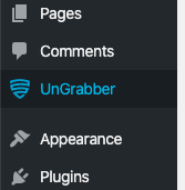 UnGrabber on the plugin page