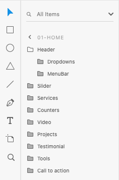 Adobe XD Layers